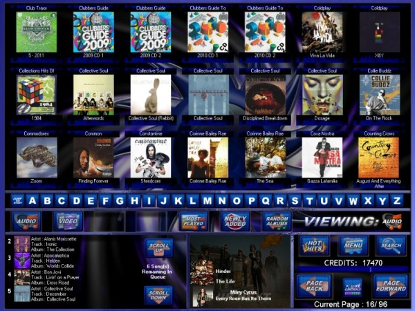 Jano Blue skin series Albums Page